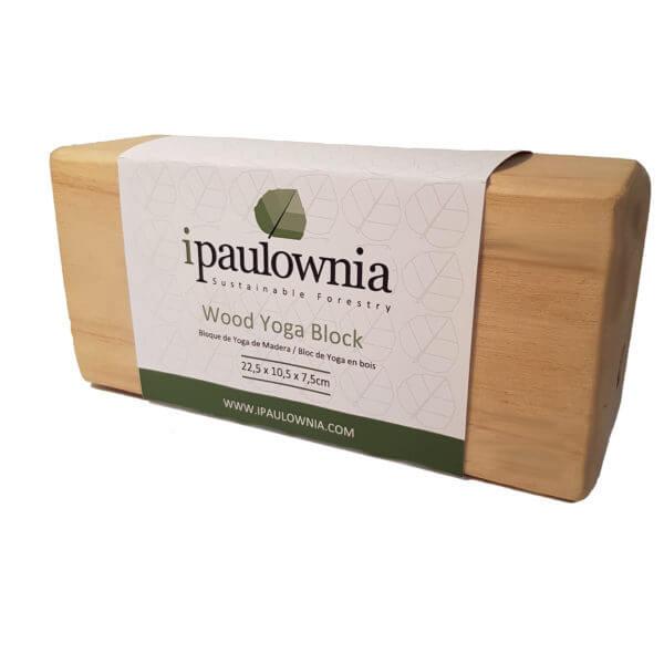 Paulownia-wood-Yoga-Block